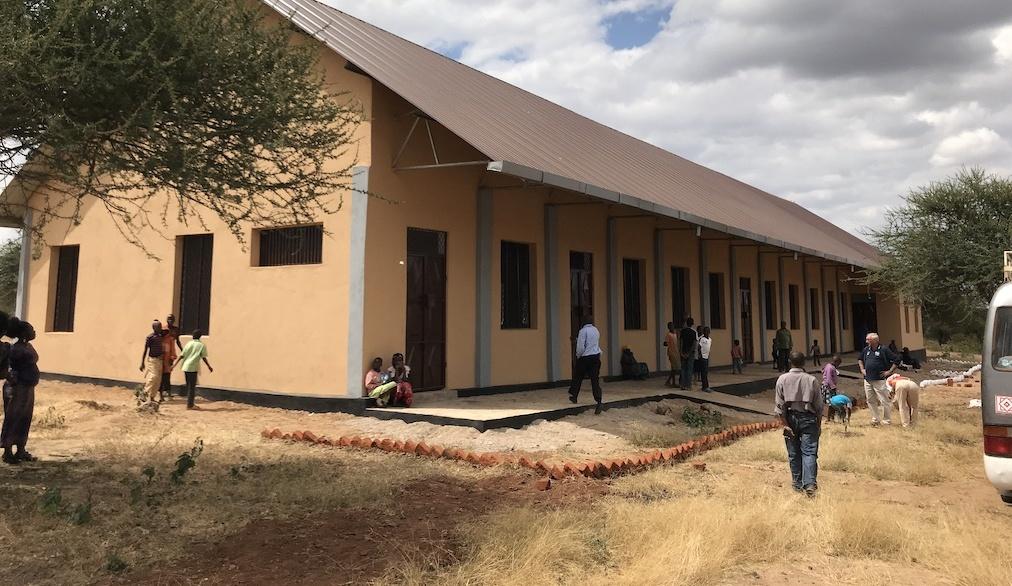 Die neue von, von uns in Kooperation mit der BBS Lingen initiierte und gebaute Berufsschule
